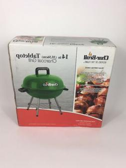 Char-Broil Portable 14 in. Charcoal Tabletop Grill