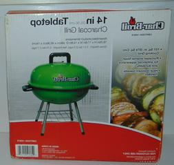 Char-Broil Portable 14 in. Charcoal Tabletop Grill NEW