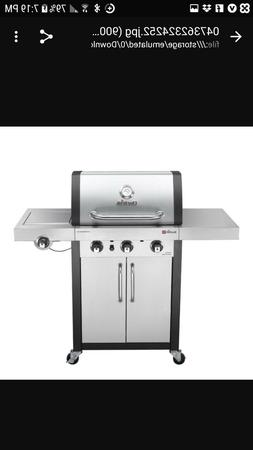 Char broil signature TRU infrared 3 burner gas grill outdoor