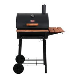 Char-Griller 435 square inch Wrangler Charcoal Grill Black E
