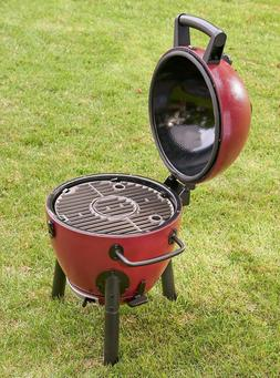 Char-Griller Akorn Jr. Kamado Kooker Charcoal Grill Red E066
