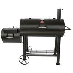 Char-Griller Charcoal Barrel Grill 1012 sq. in. Adjustable S