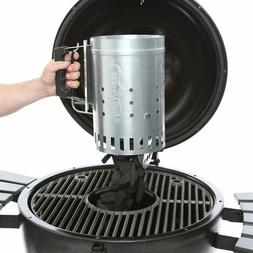 Char-Griller Charcoal Grill Chimney Starter with Quick Relea