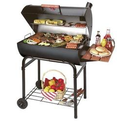 Char-Griller Pro Deluxe Charcoal Grill