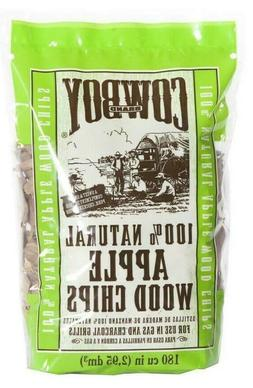 Cowboy Charcoal 100% Natural Apple Wood Chips for Grills and