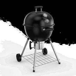 "Charcoal Barbecue BBQ Grill Black 22"" Superior Extra-Deep Ke"