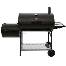 Charcoal Barbecue Grill Black Home Meat Smoker Patio Backyar