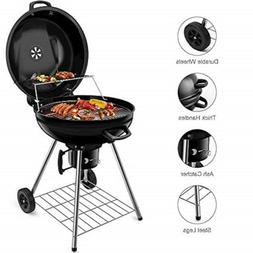 BEAU JARDIN Charcoal Grill 22.5 Inch Diameter Cooking Grate