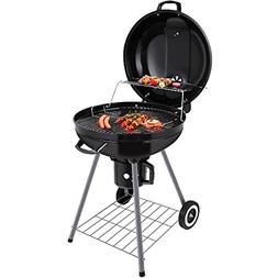 BEAU JARDIN Charcoal Grill 22 Inch Diameter Cooking Grate Ch
