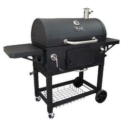 Charcoal Grill Extra Large Heavy Duty 2 Cooking Area Outdoor