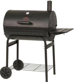 Portable Charcoal Grill Outdoor BBQ Cooker Smoker Cast Iron