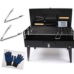 kasego Charcoal Grill Portable Barbecue Grill Folding Lightw