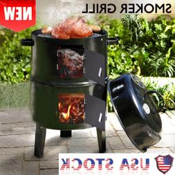 Charcoal Grill Portable BBQ Outdoor Cooking Camping Garden B