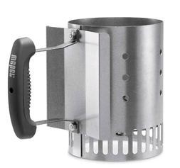Weber Charcoal Starter Lighter Can Fire Grill Bin Grate Hand