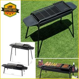 charcoal stove grill outdoor bbq accessories black