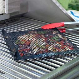 Fenebort Christmas Winter New Hot Non-Stick Mesh Grilling Ba