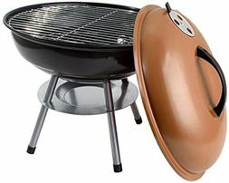 """Classic 14"""" Charcoal Barbecue Grill Portable BBQ Heavy Steel"""