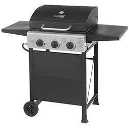 MASTER COOK Classic Liquid Propane Gas Grill, 3 Bunner with