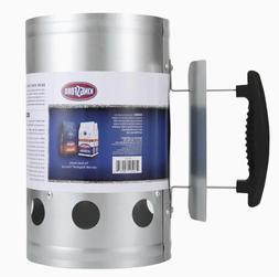 Kingsford Deluxe Charcoal Chimney Starter With Handle Safe L