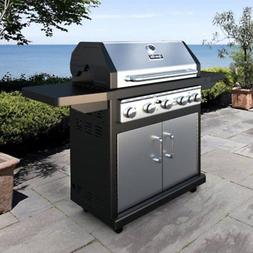 Dyna-Glo 5-Burner Gas Grill with Side Burner