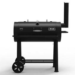 Dyna Glo Charcoal Grill Heavy Duty Barrel Stainless Steel Bl
