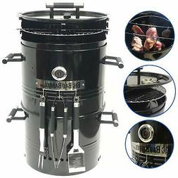 EasyGO EGP-FIRE-017 Big Bad Barrel Charcoal Barbeque 5 in 1