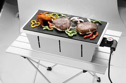 Electric Stainless Steel Food Grade Portable Charcoal Barbec