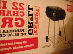 EXPERT CHARCOAL GRILL 22 INCH NEVER OPENED not a table top