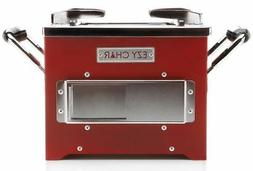 EZYChar® Charcoal Camping/Tailgating Grill Cook Stove from
