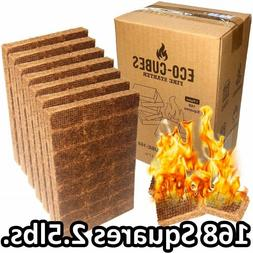 Fire Starter Cubes 168 Pieces Eco Squares Lighter for Charco