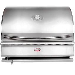 Cal Flame G-Charcoal 31-Inch Built-In Charcoal BBQ Grill