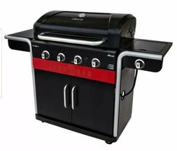 Char-Broil Gas2Coal 4-Burner Liquid Propane and Charcoal Hyb