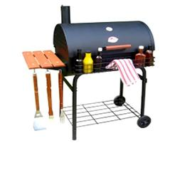 Go-Anywhere Charcoal Grill for Natural BBQ, Pro Deluxe Barre