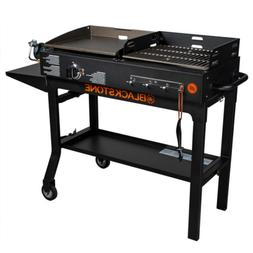 grill bbq griddle and charcoal duo combo