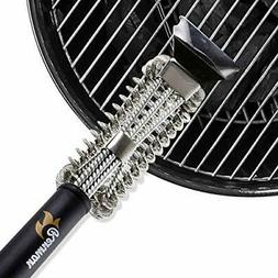 Renman Grill Brush Bristle Free - Stainless Steel Bristle Fr