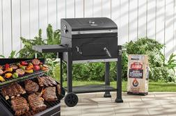 Grill Charcoal Heavy Duty 24 Inch Large Cooking Area Black P