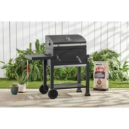 """Grill Charcoal- Outdoor Grill Heavy Duty 24"""", And 372 Sq Inc"""