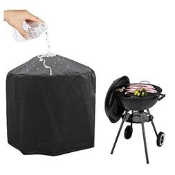 Grill Cover,AYAMAYA Kettle Grill Waterproof Dustproof Round