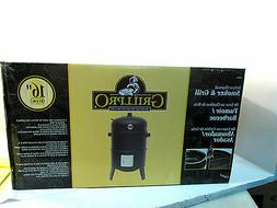 grill pro 16 deluxe charcoal smoker