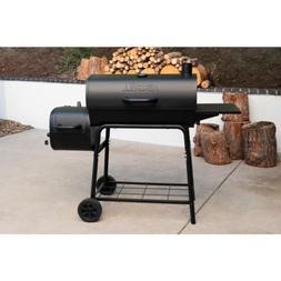 Grill Smoker Combo Charcoal Wood Offset Barrel BBQ Professio