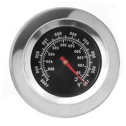 Grill Thermometer Analog Gauge Replacement Outdoor Cooking C
