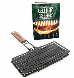 Charcoal Companion Grilled Cheese Basket & Recipe Book