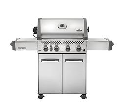 Napoleon Grills Prestige 500 with Infrared Rear Burner Stain