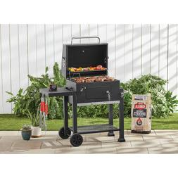 "Heavy Duty 24"" Charcoal Grill Expert Cast Iron 573 Sq In Coo"