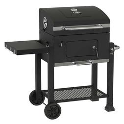 Expert Grill Heavy Duty 24 Inch Charcoal Grill Black Chrome