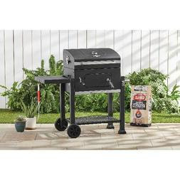 Heavy Duty 24-Inch Charcoal Grill Outdoor Patio Cooking BBQ