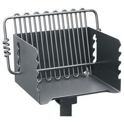 Pilot Rock Steel Park-Style Backyard Charcoal Grill-16 1/4in