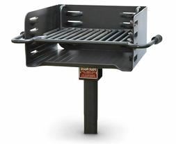 Heavy Duty Park Style Charcoal Grill - NEW!