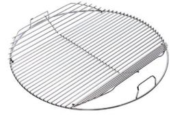 """Weber Hinged Cooking Grate 18.5"""" Fits 18.5"""" Weber Charcoal G"""