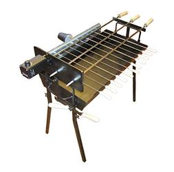 Tritogenia Inline Charcoal Grill with One Multispeed 0-65RPM
